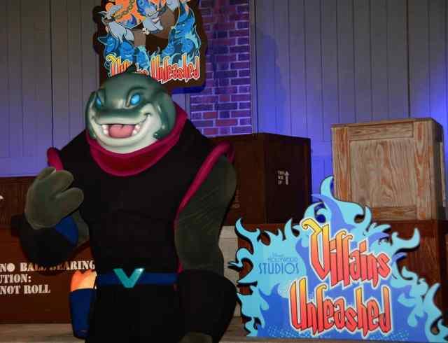 Captain Gantu at Villains Unleashed at Hollywood Studios August 2014