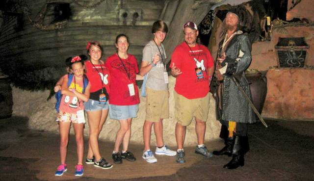 at Villains Unleashed at Hollywood Studios August 2014