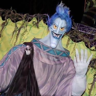 Hades at Disneyland Mickey's Halloween Party 2015