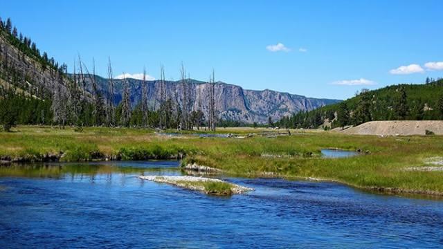 Yellowstone Day 3 Junior Ranger Post Madison