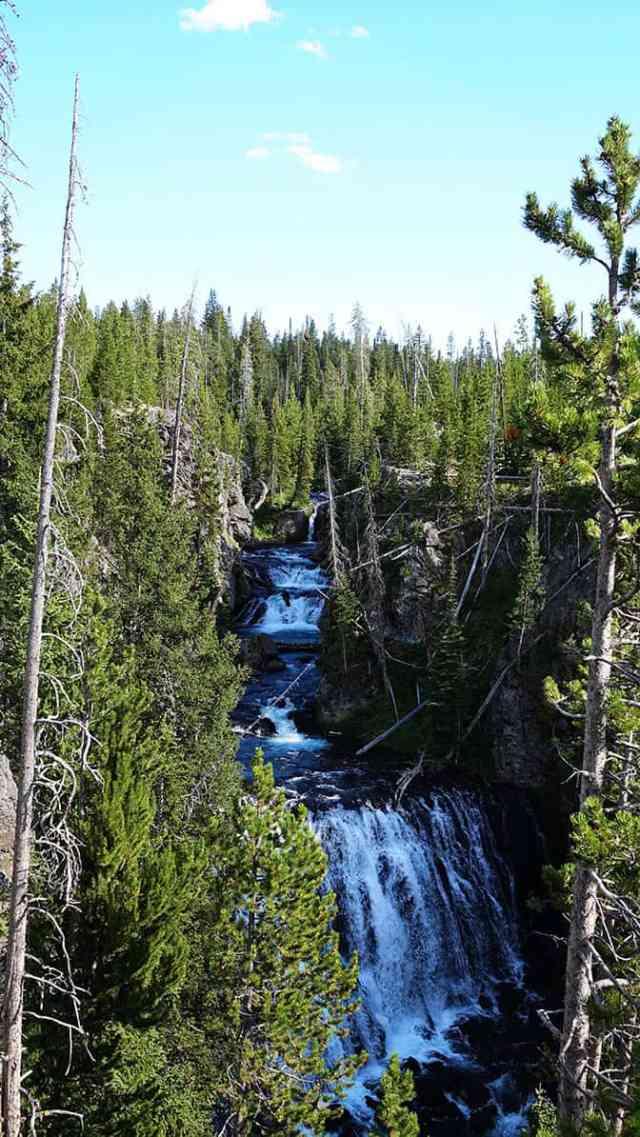 Yellowstone Day 3 Cascades