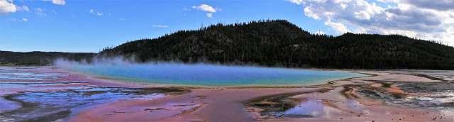 Yellowstone Day 3 Grand Prismatic