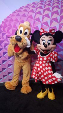 Epcot Chase Disney Visa character meet NEW location!