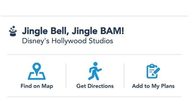 Jingle Bell, Jingle BAM fireworks possibly coming to Hollywood Studios