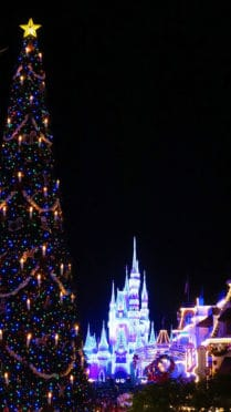 Once Upon a Christmastime at Mickey's Very Merry Christmas Party 2016