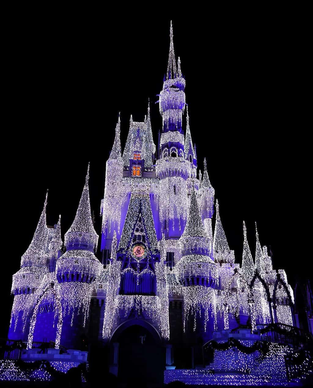 Magic Kingdom Transforms Into A Winter Wonderland