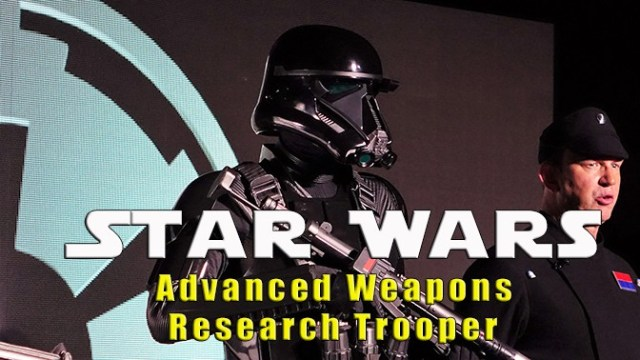 Advanced Weapons Research Troopers and turning Spaceship Earth into the Death Star
