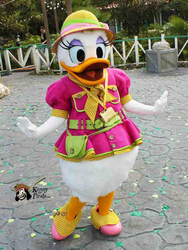 Worldwide Wednesday Daisy Duck in a special Jungle Adventure outfit