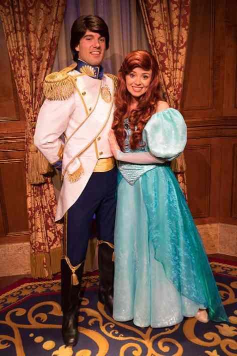Disney Vacation Club Moonlight Madness 2017 Ariel Eric