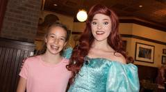 Bon Voyage Adventure Breakfast at Trattoria al Forno on Disney World Boardwalk Ariel (1)