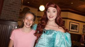Bon Voyage Adventure Breakfast at Trattoria al Forno on Disney World Boardwalk Ariel (1)