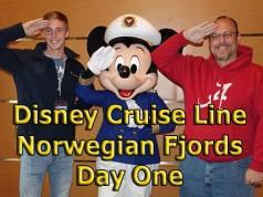 Disney Cruise Line Norwegian Fjords Day One