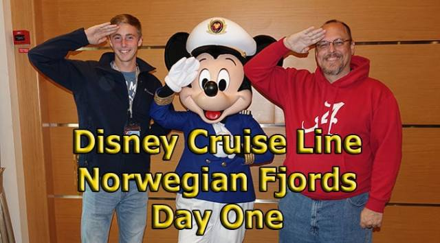 Disney Cruise Line Norwegian Fjords Day One