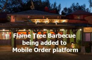 Flame Tree Barbecue being added to Mobile Order platform