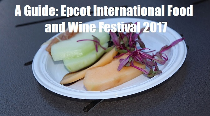A Guide: Epcot International Food and Wine Festival 2017