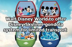 Walt Disney World Gondolas will not offer Air Conditioning