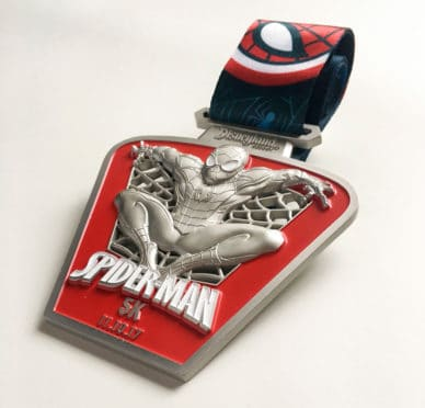 2017 Super Heroes Half Marathon Weekend Medals