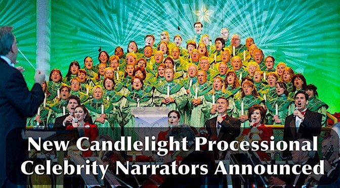 Additional Epcot Candlelight Processional narrators announced