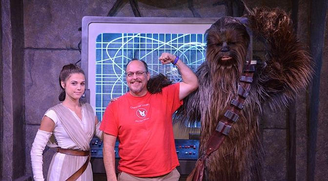 Great star wars characters offer meet and greets for a limited time rey has begun meeting guests at disneyland m4hsunfo