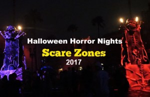Universal Orlando Halloween Horror Nights Scare Zones