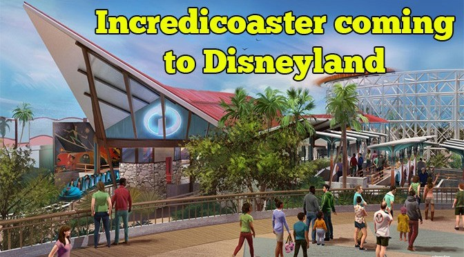 Incredibles themed roller coaster coming to Disneyland's California Adventure