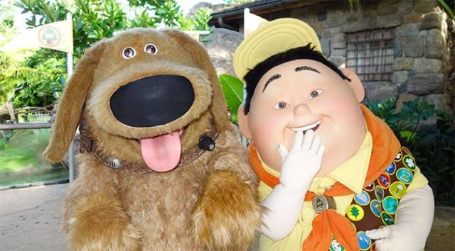 Flights of Wonder to be replaced by new show featuring Dug and Russell