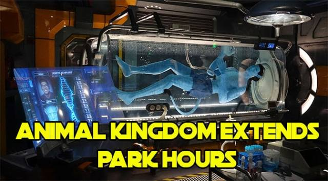 Disney's Animal Kingdom extends park hours for Late February through Early April