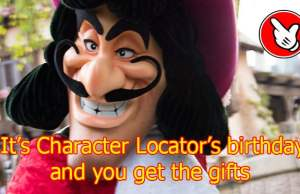 It's Character Locator birthday and you get the gifts