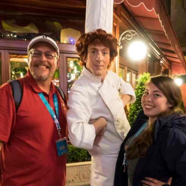Linguine from Ratatouille at Fandaze in Disneyland Paris 2018 (2)