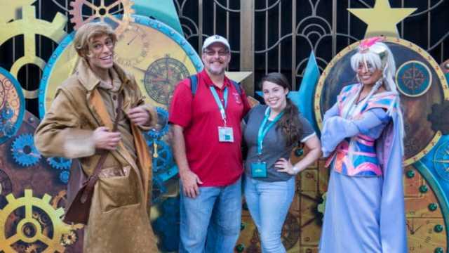 Milo and Kida from Atlantis at Fandaze in Disneyland Paris 2018 (2)