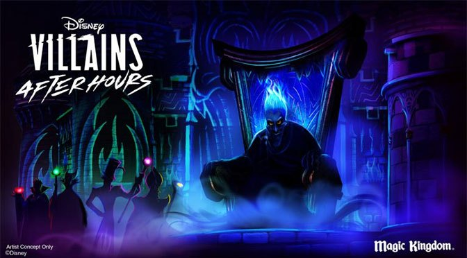 Disney Villains After Hours coming to Magic Kingdom Summer 2019