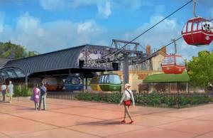 Walt Disney World Skyliner Gondola