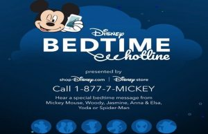 """Disney Bedtime Hotline"" Now Open for a Limited Time"
