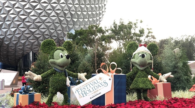 Holiday Kitchen Offerings and Cookie-Stroll Adventures Highlight Upcoming Epcot Holiday Festival