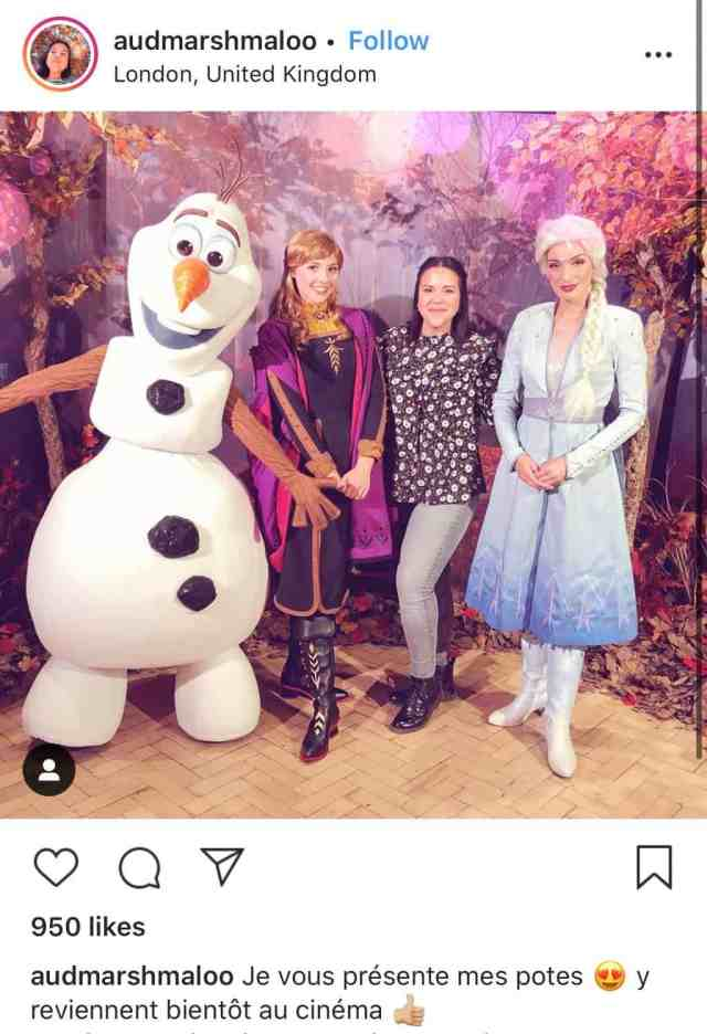 Anna and Elsa new look Frozen 2