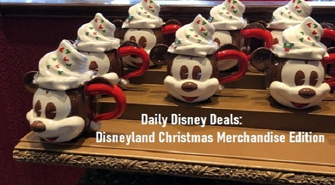 Daily Disney Deals: Disneyland Christmas Merchandise Edition