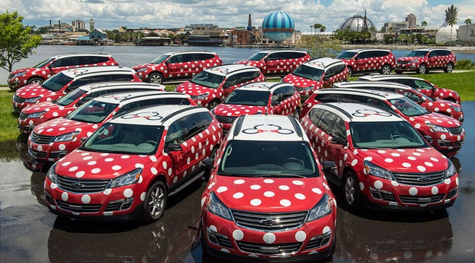 Minnie Van Airport Transfers can now be Added to Disney Packages