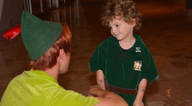 Disney Magical Memory: Meeting Peter Pan
