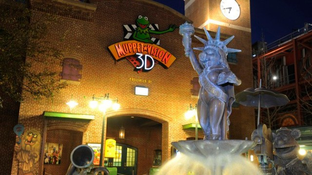 Muppet*Vision 3D Closing for Refurbishment
