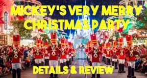 Mickey's Very Merry Christmas Party Details and Review