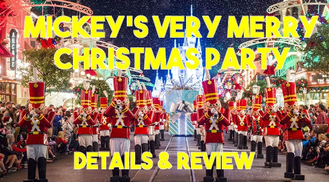 Review: Mickey's Very Merry Christmas Party from 2018