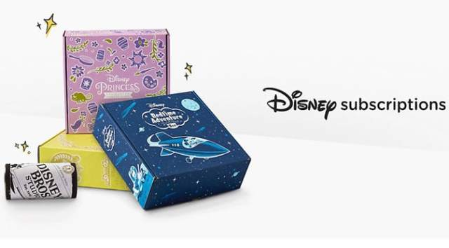 Subscription Boxes Available at ShopDisney