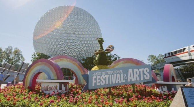 COMING SOON 2020 EPCOT INTERNATIONAL FESTIVAL OF THE ARTS