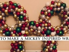 DIYsney: How to Make Your Own Mickey-Inspired Ornament Wreath