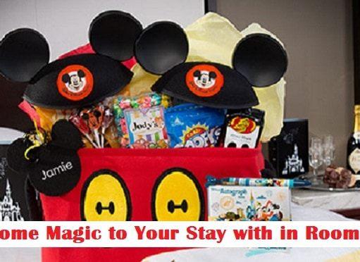 Walt Disney World In-Room Celebrations