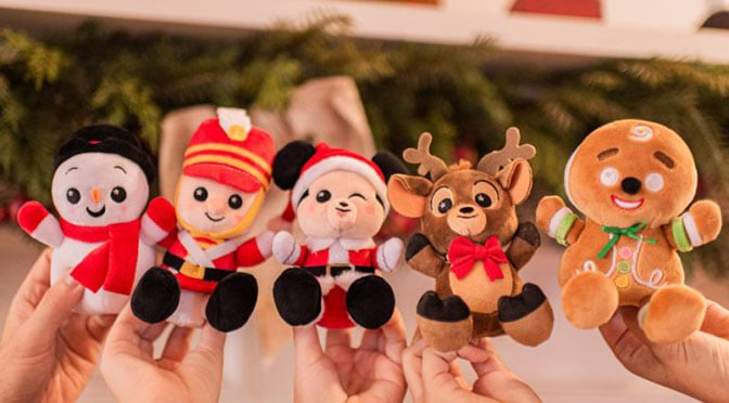 New Disney Parks Holiday Wishables Collection