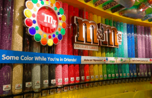 Concept Art for M&M's Store in Disney Springs Revealed