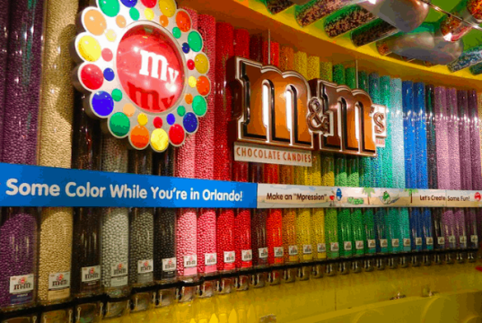Concept Art for M&M's Store in Disney Springs Revealed