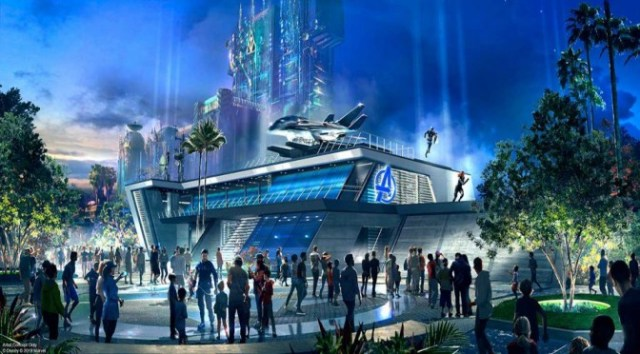 Spider-Man will Swing Above Guests when Avengers Campus Opens