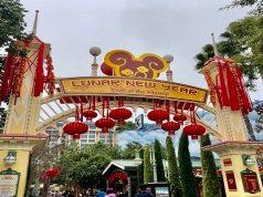 Lunar New Year Celebration at the Disneyland Resort